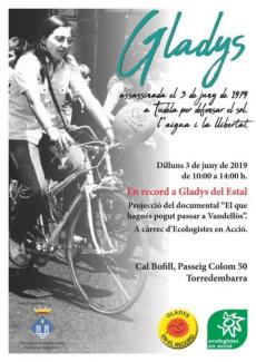 Cartell Gladys_Torredembarra